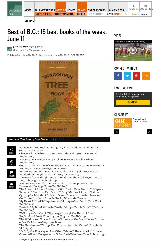 bc bestsellers june 11 2016